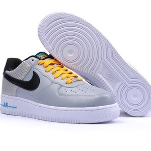 Nike Air Force 1 Low WBF Gray Black rare size 13